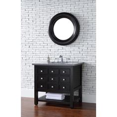 "James Martin Furniture 505-V36-CEO Vancouver 36"" Single Sink Bathroom Vanity in Espresso (Optional Countertops)"