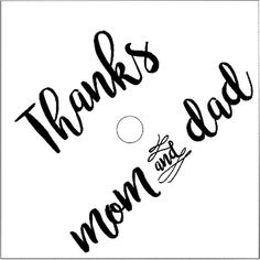 Thanks Mom and Dad Iron On, Graduation Cap Quote, Graduation Cap Toppers, Custom Grad Cap, DIY Grad Quotes For Graduation Caps, Custom Graduation Caps, Graduation Cap Toppers, Grad Cap, College Graduation, Custom Caps, Thanks Mom, Be Yourself Quotes, Mom And Dad