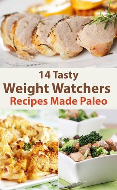 Paleo - 14 Tasty Weight Watchers Recipes Made Paleo - It's The Best Selling Book For Getting Started With Paleo Best Weight Loss Foods, Quick Weight Loss Diet, Healthy Weight, Lose Weight, Plats Weight Watchers, Weight Watchers Meals, Smoothies, Eating For Weightloss, Paleo Diet