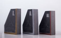 Trophies for the Hungarian Concrete Canoe Cup on Behance