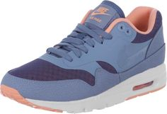 Nike Air Max 1 Ultra Essentials W Schuhe blau oliv auf Stylelounge.de