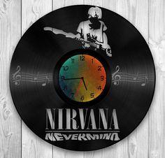 Nirvana da dischi in vinile vintage. Nirvana di di VinylEgoist