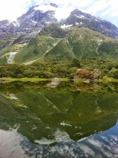 Mirror lake, Wilkin valley, NZ
