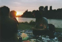 That time you drank wine in the park and watched the sun set.