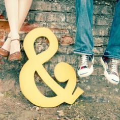 Ampersand! Would be lovely combined with the yarn-wrapped thing I pinned earlier.