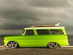 I gotta have this Suburban surf wagon!