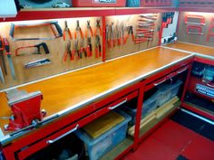 Refinished My Workbench & Built Myself a Tool Creeper - The Garage Journal Board