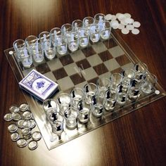 Checkmate! Shot Glass Chess l Fancy