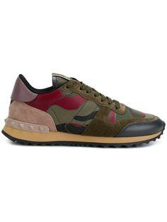 Shop Valentino Valentino Garavani Camouflage sneakers