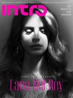 Elizabeth Grant (Lana Del Rey) for Intro Magazine, February 2012