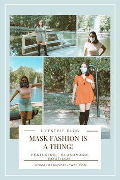 Mask Fashion, Blushmark Fashion, Covid-19 Style