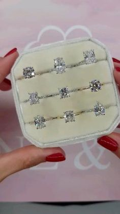 Cute Engagement Rings, Radiant Engagement Rings, Beautiful Wedding Rings, Wedding Ring Designs, Ring Verlobung, Dream Ring, Diamond Are A Girls Best Friend, Bridal Rings, Diamond Rings