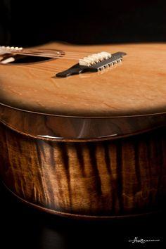 Pederson acoustic guitar bevel