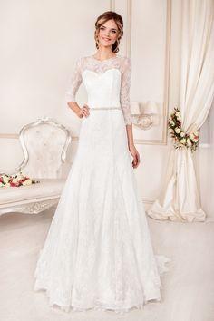Design 57 from Angelo Medici collection #slanovskiy #weddingdress #gown #angelomedici