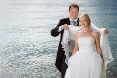 Wedding photography in Vaxholm archipelago, just north of Stockholm, Sweden.