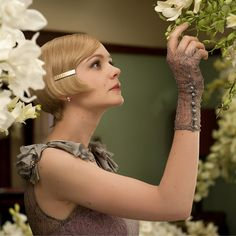 Carey Mulligan evokes Jazz Age glamour in Tiffany jewelry created expressly for Baz Luhrmann's film The Great Gatsby. The Great Gatsby 2013, Great Gatsby Party, Gatsby Theme, Gatsby Style, Gatsby Wedding, Carey Mulligan, O Grande Gatsby, Daisy, Celebs