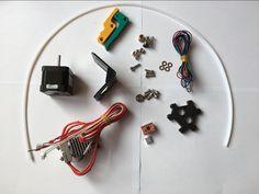 K200/K280 dual extruder upgrade kit for HE3D delta K200/K280 DIY 3D printer #Affiliate
