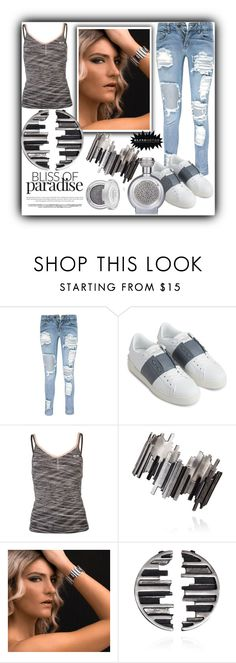 """""""blingsense 4"""" by fatimka-becirovic ❤ liked on Polyvore featuring Boohoo, Valentino, USA Pro and Boadicea the Victorious"""