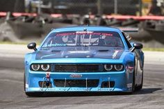 SRT and Dodge premiered the Challengers in SCCA Trans-Am series at Mid-Ohio Sports Car Course