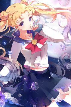 Tsukino Usagi - Sailor Moon inspired so many great artists