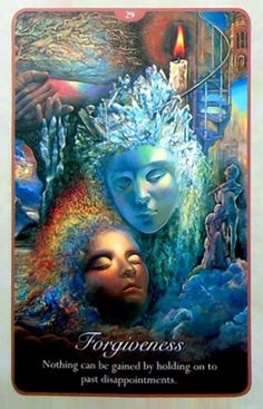 """""""29 Forgiveness"""" Oracle Cards Whispers of Love par Josephine Wall and Angela Hartfield"""
