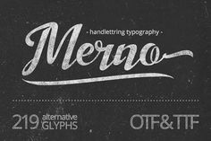 Merno by JROH Creative on @creativemarket