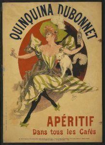 An poster sized print, approx (other products available) - AD: ALCOHOL, <br> Advertisement for Quinquina Dubonnet aperitif. Lithograph by Jules Cheret, - Image supplied by Granger Art on Demand - Poster printed in the USA Vintage French Posters, Pub Vintage, Vintage Advertising Posters, Poster Vintage, Vintage Labels, Vintage Advertisements, Vintage Images, Fine Art Prints, Framed Prints