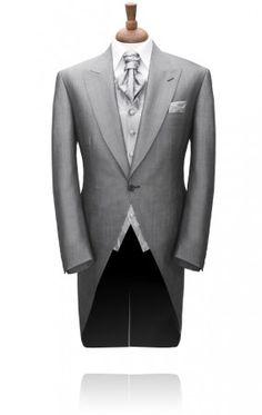 Grey Mohair Morning Tailcoat Jacket by Torre | Morning Suits | Formalwear Suits | Men's Shop | My Tuxedo