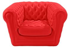 Inflatable loveseat  The Blofield collection is available to rent nationwide through cort-event-furnishings