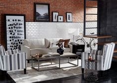 Best of Both Worlds Living Room | Ethan Allen