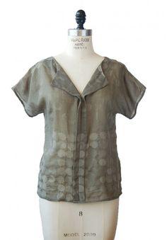 Weekend Getaway blouse pattern