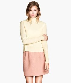Pink H&M Quilted Skirt $50