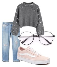 """😍🤤"" by tynkaxdobbelaar ❤ liked on Polyvore featuring Vans"