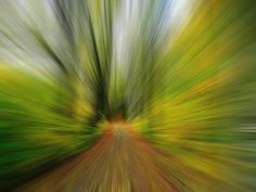 Zoom blur example