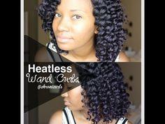 Silky, Heatless Curls with Flexi Rods Heatless Hairstyles, Heatless Curls, Cool Hairstyles, Natural Hair Tutorials, Natural Hair Styles, Three Strand Twist, Curling Rods, Perm Rod Set, Flexi Rods