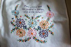 Flores Frida bordado livre