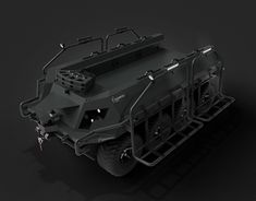 The Reinmetall Mission Master is a UGV or unmanned Ground Vehicle developed by Reinmetall as a multimission platform catering for protection, surveillance and can be used for safety and protection. New Work, Behance, Models, 3d, Film, Gallery, Check, Behavior, Movie
