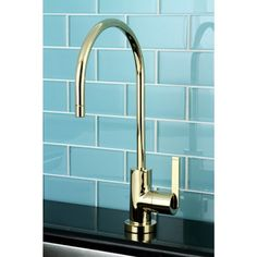 Single-handle Polished Brass Replacement Drinking Water Filteration Faucet - Overstock™ Shopping - Great Deals on Kitchen Faucets