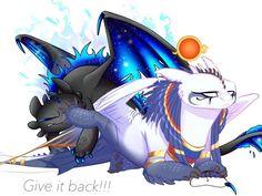 Beautiful Dragon, Night Fury, Toothless, Httyd, Sonic The Hedgehog, Solar, Digital Art, Fun, Anime