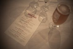 Special five course beer and food matching menu created for Monki Gras 2013 @ldnfldsbrewery