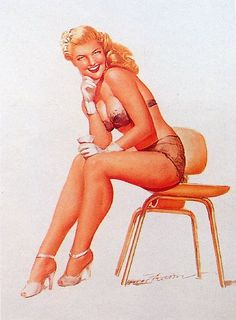 Earl MacPherson pin-up picture