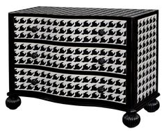 Houndstooth Dresser @Rebecca West Price  and @Theresa Stephens
