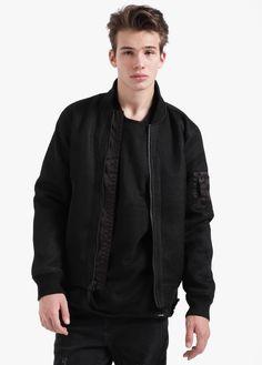 Miller Bomber Jacket Black