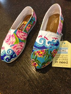 I favorited the pair I want on Etsy!! With the patters: you gotta regatta, first impressions, and she she shells
