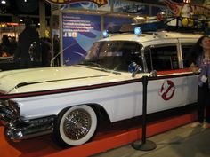 If you, in any small amount, loved Ghostbusters, you wanted this car.  And its siren.