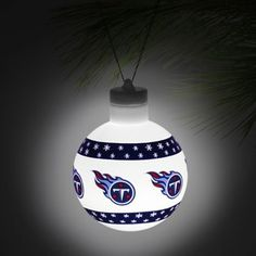 Tennessee Titans LED Light Up Ball Ornament
