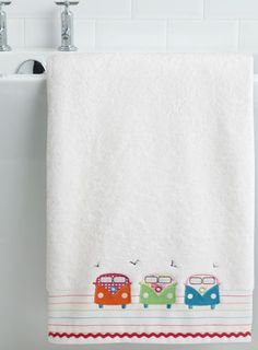 Multi Campervan Bath Sheet
