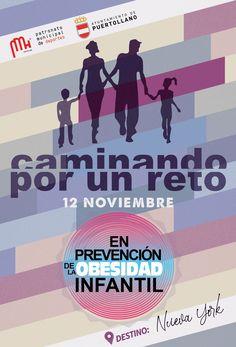"""El compromiso del PMD de Puertollano con el deporte y la salud es muy fuerte, por lo que con la asociación """"caminando por un reto"""" realizaron una marcha """"en prevención de la obesidad infantil"""". Movies, Movie Posters, Childhood Obesity, Engagement, Strong, Health, Sports, Films, Film Poster"""