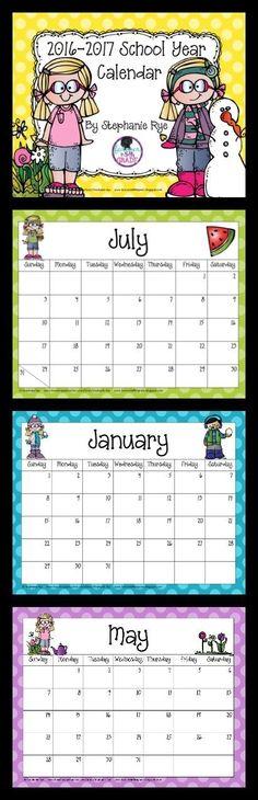 Calendar Organization Quiz : First grade shenanigans back to school and a freebie