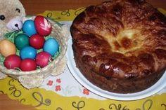 Pasca delicioasa cu branza dulce si stafide - Culinar.ro Easter Recipes, Food To Make, Delish, Deserts, Muffin, Pudding, Breakfast, Sweets, Morning Coffee
